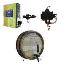 Оборудование для розлива вина - винные краны, шланги, коннекторы
